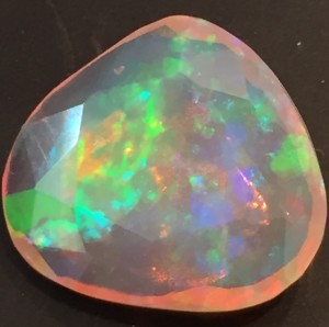 Fire Opal with play of color