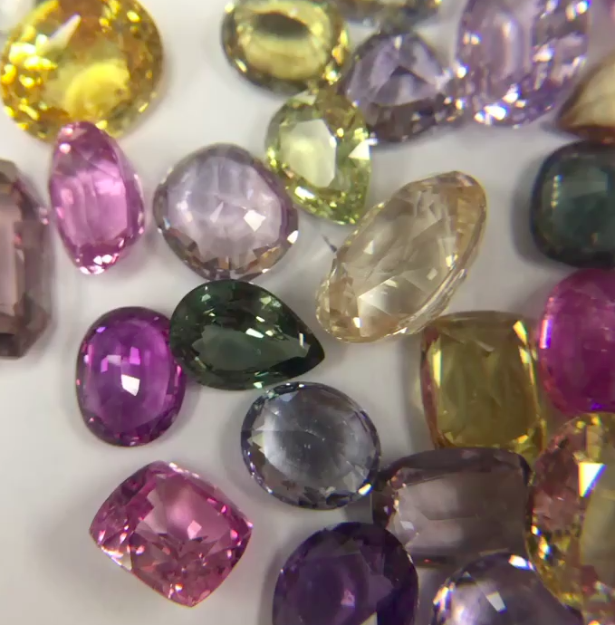 Selection of rare Sapphires