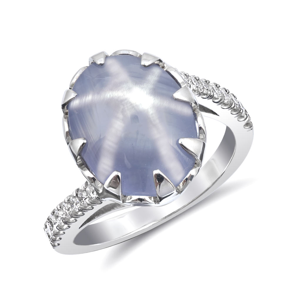 products silver gray sterling sapphire ringkeep ct blue ring