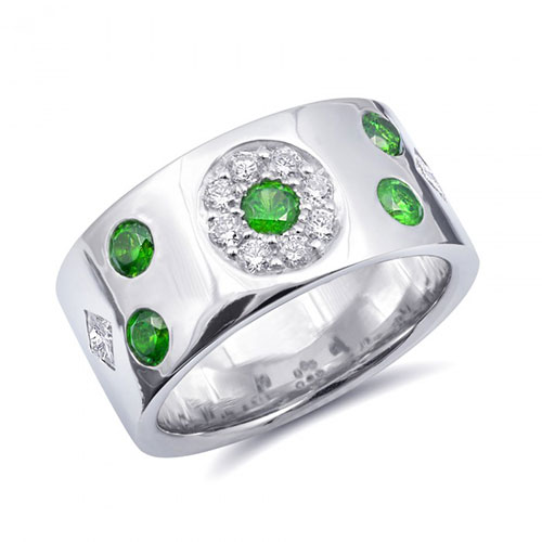 Russian Demantoid Garnet