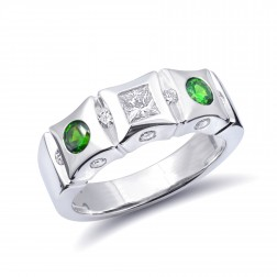 Russian Demantoid Rings